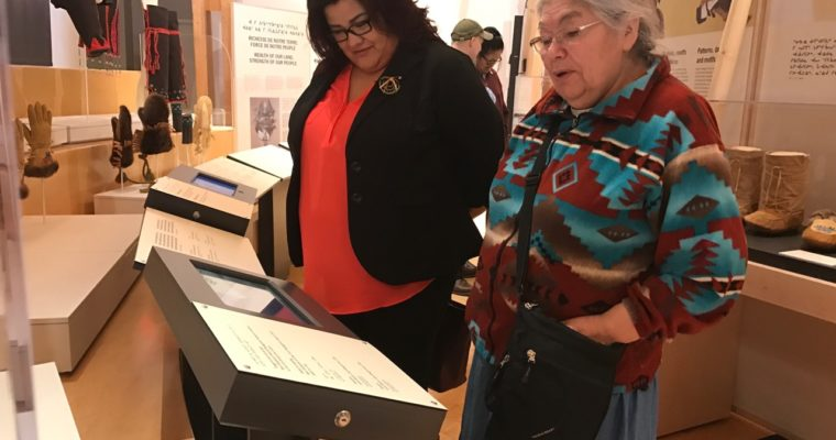A Grand Cree Travelling Exhibition Opens in the Subarctic